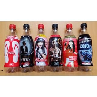 可口可樂 寶特瓶空瓶 6瓶一組