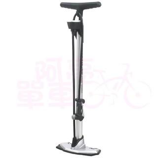【阿亮單車】GIYO 鋁合金高壓立式打氣筒(GF-61)提高胎壓表,易讀取,銀色《C74-F61》