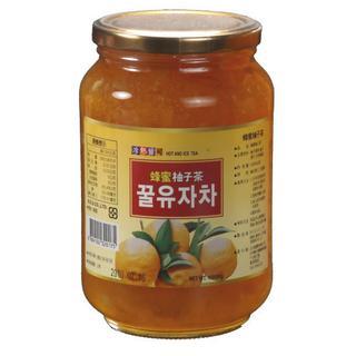 高麗購/正友蜂蜜柚子茶1000克1瓶/現貨