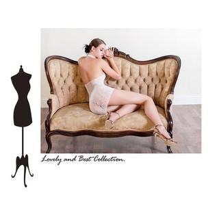 【M-16】HoneyMoon蜜月假期  性感大尺碼大腿襪夢幻大蕾絲邊購買睡衣加購價99