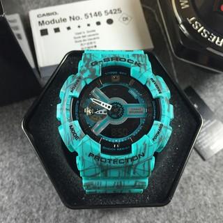 全新正品卡西歐 CASIO G-SHOCK GA110 防水夜光防震運動手錶 爆裂綠