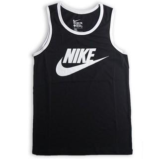 Nike Sport Wear 男生運動休閒背心 黑色背心 nike籃球慢跑背心 logo無袖背心 779235-011