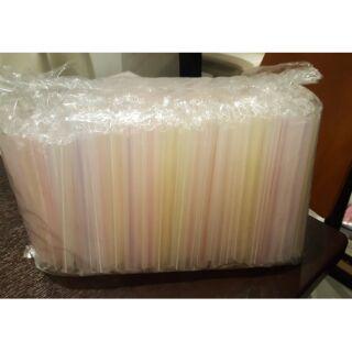 塑膠粗吸管/大珍珠專用吸管/單包裝吸管