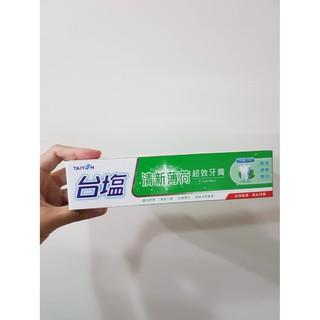 台鹽生技 清新薄荷超效牙膏 2019.03