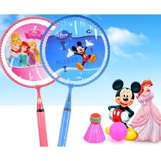 迪士尼官方授權兒童羽毛球拍