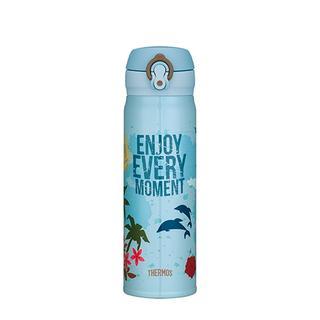 THERMOS 膳魔師不鏽鋼 超輕量 真空保溫瓶 500 mL 湛藍假期 (JNL-500VC-SAX)