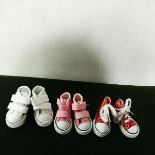 BTS EXO bts exo 娃娃 鞋子 魔鬼氈 綁帶