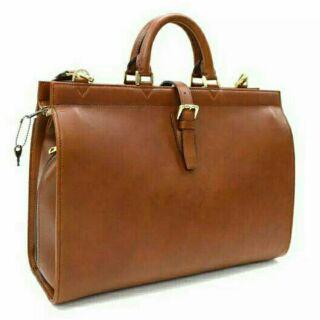 代購))從前從前 dresseum 茂木太太 同款復古皮質手提包