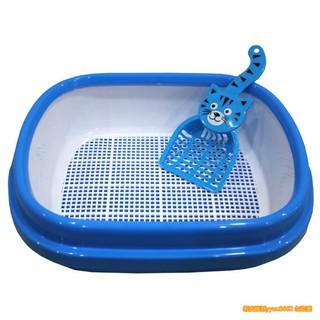 小夥伴 貓廁所 雙層貓砂盆 松木網格三層貓砂盆 貓沙盆 貓砂盆