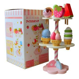 【衝評價】日本Mother Garden雙層冰淇淋組 現貨