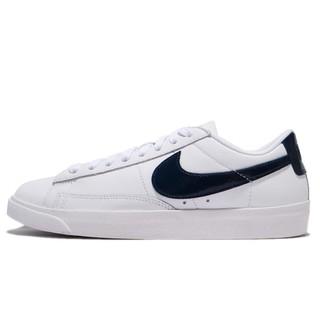 1/18 代購NIKE Wmns Blazer LE 女生白色藍勾復古休閒鞋AA3961