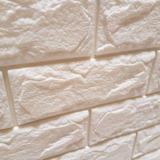 【韓國進口】3D泡綿立體壁貼 防水壁貼 隔音防撞