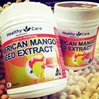 澳洲Healthy Care African MangoSeed非洲芒果籽精華60粒