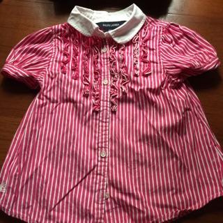 RALPH LAUREN-女童襯衫polo衫內搭褲