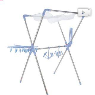 寶媽咪 超世代X型空間大師專利曬衣架
