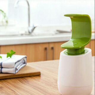 (現貨出清)洗手液瓶子 C型單手手背按壓洗手液瓶子洗手液瓶洗頭洗發乳液瓶(內無附贈任何液體)