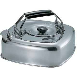 日本杉山金屬不鏽鋼水壺/茶壺/露營煮水壺2.8L(電磁爐可用)