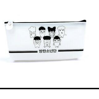 BTS果膠鉛筆盒《現貨》