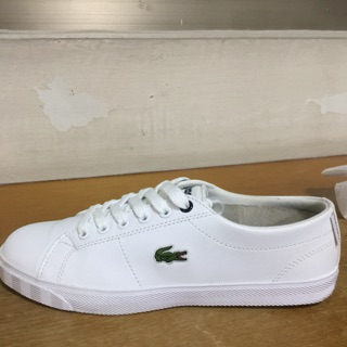 Lacoste女生小白鞋
