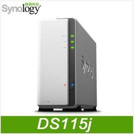 Synology 群暉科技 DS115j 1Bay NAS 網路儲存伺服器