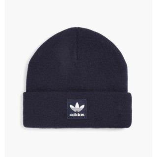 Adidas Originals Beanie 毛帽 男女 針織 愛迪達 藍白 深藍 BR2614