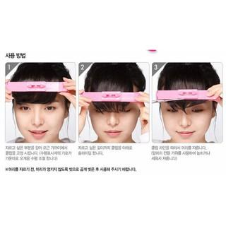 韓國製造 紙卡泡殼包裝 DIY瀏海修剪器 剪刀+修剪輔助器