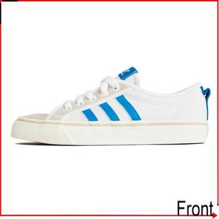 ADIDAS Nizza LO 水藍白AF6287 水藍韓國學生鞋休閒鞋麂皮 2df3267398b7