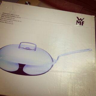 Wmf 32公分長柄中華炒鍋
