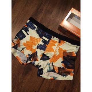 新款無痕良品MODAL莫代爾 四角內褲 1條裝 有盒子包裝 男士必備