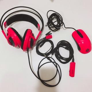 Steelseries 西伯利亞 電競耳機 贈電競滑鼠