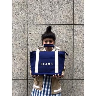 7-11 BEAMS 藍色、橘色托特包
