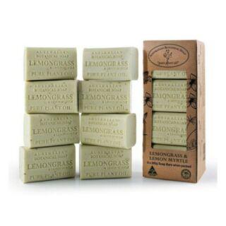 澳洲製植物精油香皂 8入 檸檬草/羊奶 [Costco代購/含運] 135945