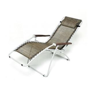 【KB329-12】 K3無段式折合躺椅(咖啡)