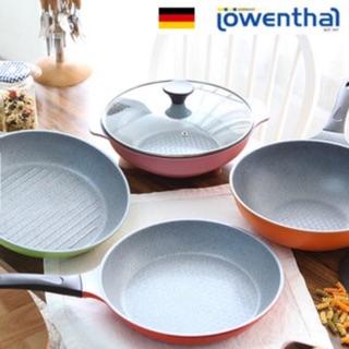 「韓國代購」德國%20Lowenthal%20陶瓷/石塗層不沾鍋/湯鍋/炒鍋/平底鍋/烤盤