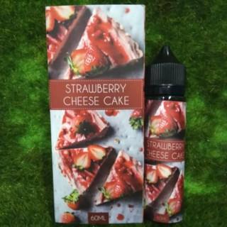 【天堂路】馬來西亞 strawberry cheese cake 草莓起司蛋糕 60ml 經典果汁