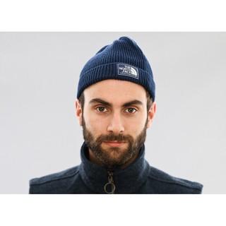 【24/7 SHOP】現貨 The North Face 毛帽 針織 保暖 深藍色 防寒毛帽 羊毛 北臉