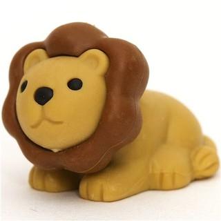 [PA文具小舖] 獅子造型橡皮擦 可愛 立體 動物 獅子 橡皮擦 模型 造型橡皮擦