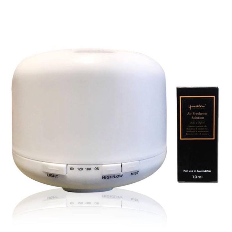 🎉新款功能💎500ml水氧機💎LED噴霧式水氧機 超音波負離子香薰機 加濕器 香薰機 霧化器 除臭