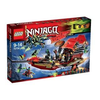 LEGO 樂高 70738 使命號之最終決戰 Ninjago 忍者系列