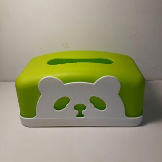 特力屋 熊熊面紙塑膠盒