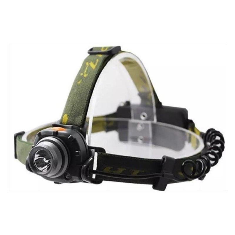 充電式感應頭燈 夜釣 600流明 附電池 紅外感應led頭燈 釣魚頭燈