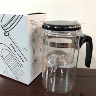 普利司通多功能泡茶壺-飄逸杯 玻璃杯 沖泡杯