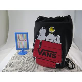 【iSport愛運動】 台灣現貨 VANS 聯名 Snoopy 束口袋後背包 主打 772450PSBK
