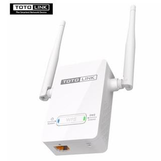 哈GAME 族TOTO LINK EX200 無線訊號強波器橋接器延伸器兩支4dBi 天線國