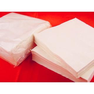 9*9雙面高級餐巾紙(現貨) 紅色餐巾紙 早餐店 餐廳 小吃店 麵攤