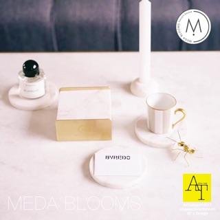 預購北歐 Meda.Blooms 大理石 杯墊 點心盤 首飾盤 質感 黃銅 廚房 拍照道具 圓形 訂婚 名片架