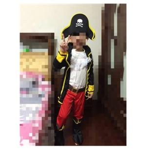 萬聖節兒童服裝 海盜造型服  萬聖節服裝