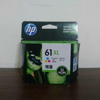 HP 61XL 高容量彩色原廠墨水匣 (CH564WA)