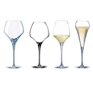 ~*法國製*~C&S Chef & Sommelier OPEN UP系列高腳品酒杯禮盒組【4入】【無鉛水晶】【品酒】