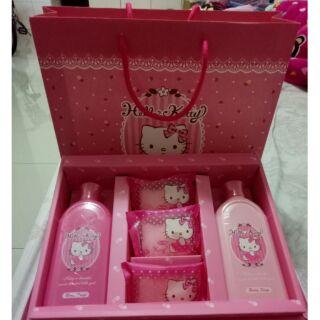 Hello Kitty 沐浴禮盒